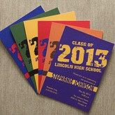 Personalized Graduation Party Invitations - Glad Grad - 11445