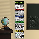 Personalized Classroom Banner - Kindness In The Classroom - 11469