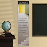 Personalized School Classroom Banners - Opportunity Knocks - 11471