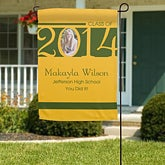 Personalized Graduation Garden Flag - Class Of - 11476