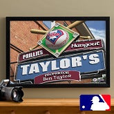 Personalized Philadelphia Phillies MLB Pub Sign Canvas Print - 11494