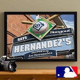 Personalized Tampa Bay Rays MLB Pub Sign Canvas Print - 11497