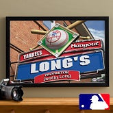 Personalized New York Yankees MLB Pub Sign Canvas Print - 11510