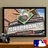 Personalized Houston Astros MLB Pub Sign Canvas Print - 11514