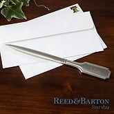Personalized Silver Letter Openers - Reed & Barton - 11519