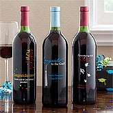 Personalized Graduation Wine - 11520D