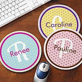Personalized Mouse Pads - Polka Dots - 11537