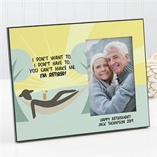 Personalized Retirement Photo Frame - I'm Retired - 11538