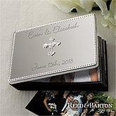 Personalized Silver Wedding Photo Album - Reed & Barton - 11540