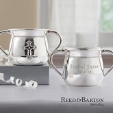 Engraved Silver Baby Cup by Reed & Barton - 11541
