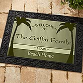 Personalized Retirement Doormat - We're Retired - 11558
