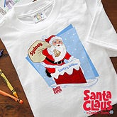 Personalized Kids Christmas Clothes - Santa Claus Is Coming To Town - 11578