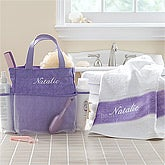 Personalized Shower Caddy - Lavendar Spa - 11583