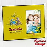 Personalized Curious George Picture Frame - 11591