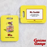 Personalized Kids Luggage Tags - Curious George - 11592