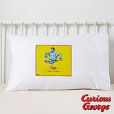 Curious George Personalized Pillowcase - 11597