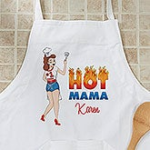 Personalized Apron - Hot Mama - 11635