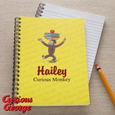 Curious George Personalized Notebooks - 11638