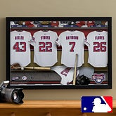 Personalized Washington Nationals MLB Baseball Locker Room Canvas - 11641
