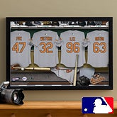 Personalized Baltimore Orioles MLB Baseball Locker Room Canvas - 11644