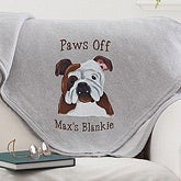 Personalized Sweatshirt Blankets - Dog Breeds - 11649