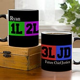 Personalized Coffee Mugs for Law School Students - 11663