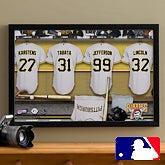 Personalized Pittsburgh Pirates MLB Baseball Locker Room Canvas - 11666