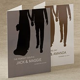 Personalized Wedding Cards - Perfect Couple - 11676