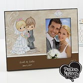 Personalized Precious Moments Picture Frames - Bride & Groom - 11679