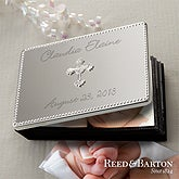 Personalized Silver Baby Photo Album - Reed & Barton - 11690