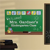 Personalized School Classroom Poster - Little Learners - 11691