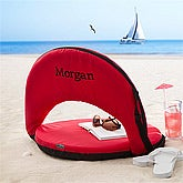 Personalized Folding Beach Chair - On The Go - 11693