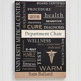 Personalized Doctor Artwork - Medical Professionals Canvas Art - 11701