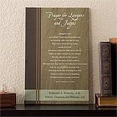 Personalized Cavas Art - Lawyers Prayer - 11709