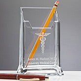 Personalized Doctor's Office Pen Holder - 11717