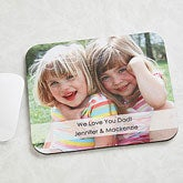 Personalized Photo Mouse Pads - Picture Message - 11727