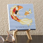 Personalized Canvas Art - Big Fish, Little Fish - 11733