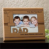 Personalized Picture Frames - Number One Dad - 11734