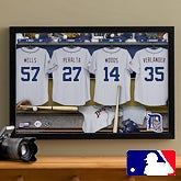 Personalized Detroit Tigers MLB Baseball Locker Room Canvas - 11738