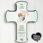 Personalized Wedding Wall Cross - Precious Moments - 11745