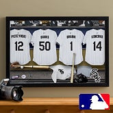 Personalized Chicago White Sox MLB Baseball Locker Room Canvas - 11748