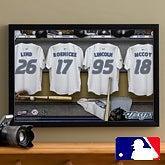 MLB Baseball Personalized Locker Room Canvas - Toronto Blue Jays - 16x24