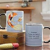 Personalized Father Coffee Mugs - Big Fish, Little Fish - 11761