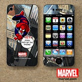 Personalized Spiderman iPhone Skin - 11788
