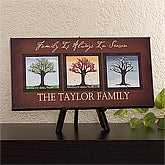 Personalized Family Name Artwork - The Seasons - 11789