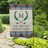 Personalized Garden Flags - Golf Pro - 11794