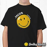 Personalized Smiley Face Kids T-Shirt - 11814