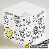 Personalized Sticky Note Cubes - Smiley Face - 11815