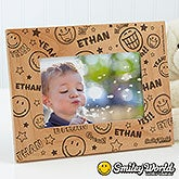 Personalized Picture Frames - Smiley Faces - 11819