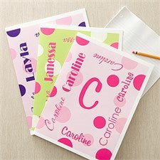 Personalized Folders for Girls - My Name - 11851